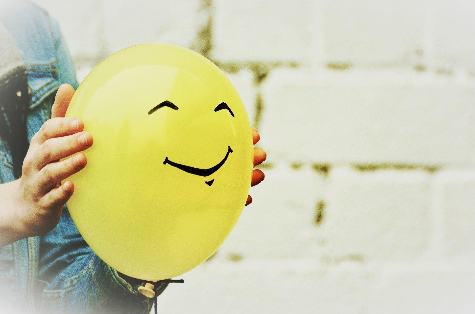 ballon sourire